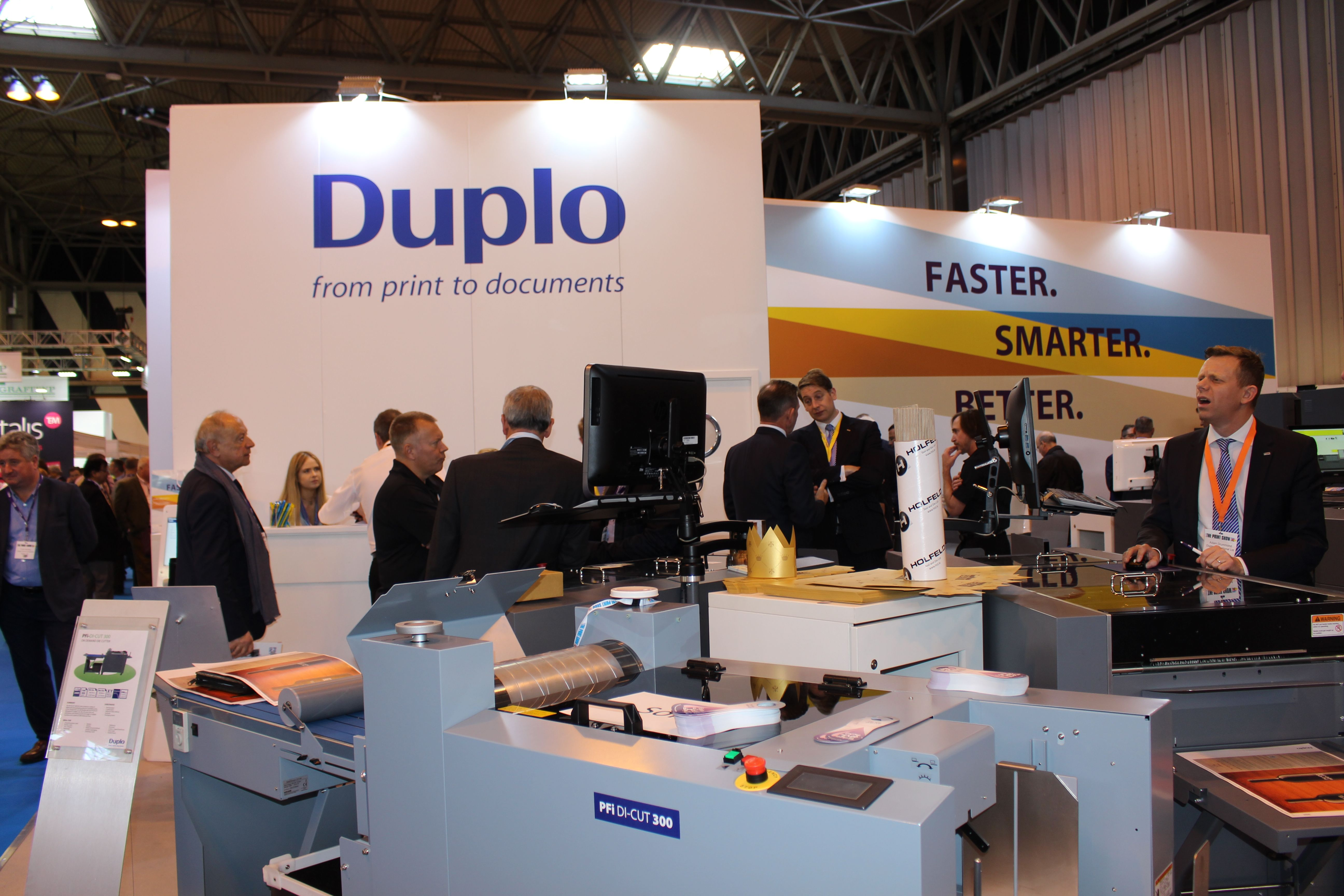 Duplo at The Print Show 2016