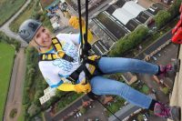 Abseiling for the Cynthia Spencer Hospice